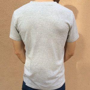 Disney Shirts - Men's Mickey Mouse Print Grey Tee Disney